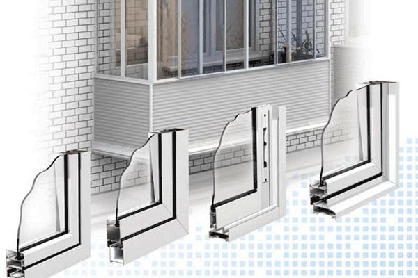 Холодное остекление, остекление балконов и лоджий алюминиевы.