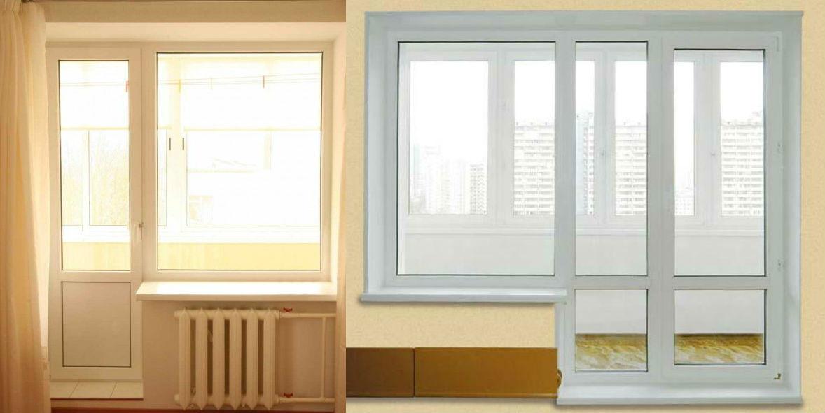 Балконные двери, пластиковая дверь на балкон, купить и устан.